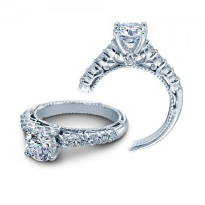 Verragio Venetian-5010R Platinum Engagement Ring