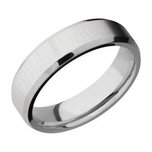 Lashbrook 6B Titanium Wedding Ring or Band