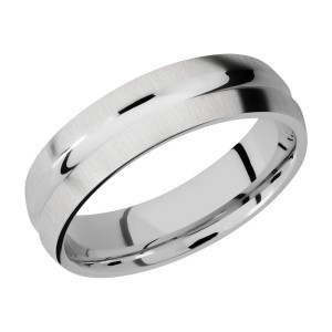 Lashbrook 6DC Titanium Wedding Ring or Band