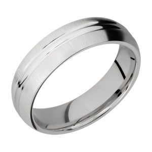 Lashbrook 6DD Titanium Wedding Ring or Band