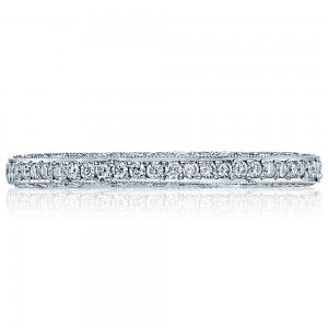 Tacori HT2257D 18 Karat Classic Crescent Diamond Wedding Band