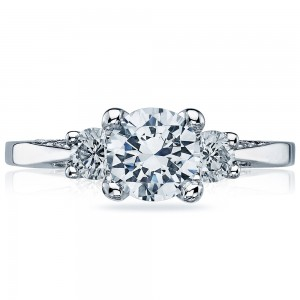 2635RD65 Platinum Simply Tacori Engagement Ring