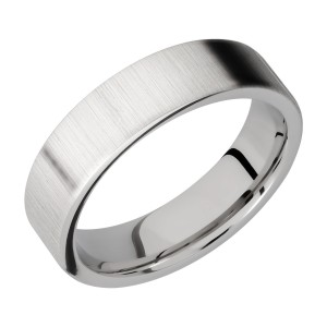 Lashbrook 6FR Titanium Wedding Ring or Band