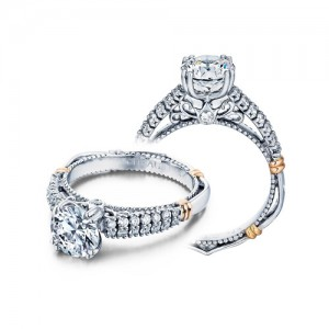 Verragio Parisian-115 Platinum Engagement Ring