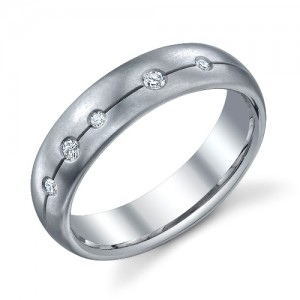 244620 Christian Bauer Platinum Diamond  Wedding Ring / Band