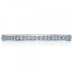 2630BSMP Platinum Tacori Dantela Diamond Wedding Ring