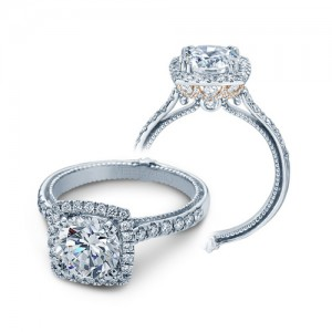 Verragio Couture-0430DCU-TT 14 Karat Engagement Ring