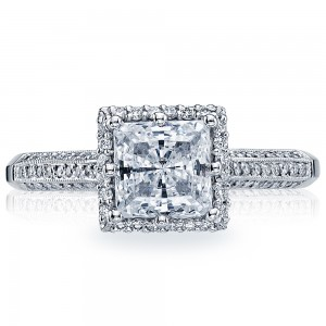 2502PRP6 Platinum Simply Tacori Engagement Ring