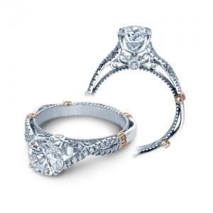 Verragio Parisian-DL105 Platinum Engagement Ring