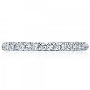 Tacori HT2545B12 18 Karat Classic Crescent Diamond Wedding Band