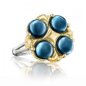 SR174Y37-1 Tacori Golden Bay Silver & Gold Ring
