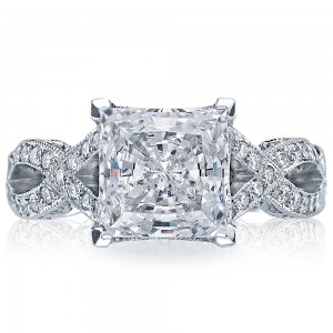 Tacori HT2606PR85 18 Karat RoyalT Engagement Ring