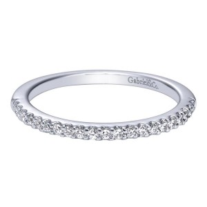Gabriel 14 Karat Contemporary Wedding Band WB5825W44JJ