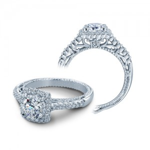 Verragio Venetian-5022CU Platinum Engagement Ring
