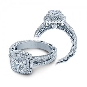 Verragio Venetian-5049CU Platinum Engagement Ring