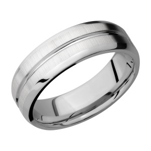 Lashbrook 7B11U Titanium Wedding Ring or Band