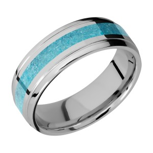 Lashbrook 7B13(S)/MOSAIC Titanium Wedding Ring or Band