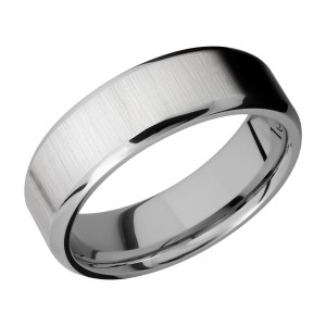 Lashbrook 7B Titanium Wedding Ring or Band