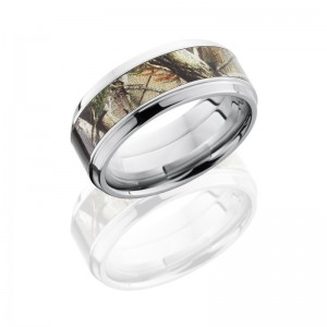 Lashbrook CCCAMO9B15(S)-RTAP POLISH Camo Wedding Ring or Band