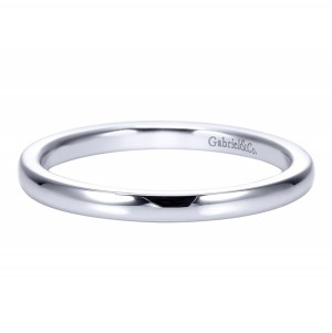 Gabriel Platinum Contemporary Wedding Band WB8076PTJJJ