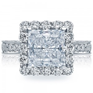HT2605PR85 Platinum Tacori RoyalT Engagement Ring