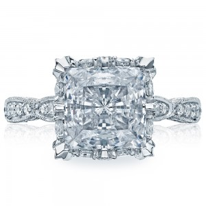 HT2604PR85 Platinum Tacori RoyalT Engagement Ring