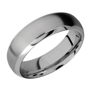 Lashbrook 7DB Titanium Wedding Ring or Band