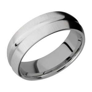 Lashbrook 7DC Titanium Wedding Ring or Band