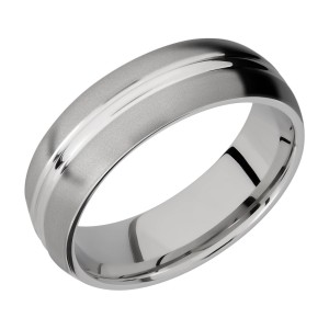 Lashbrook 7DD Titanium Wedding Ring or Band