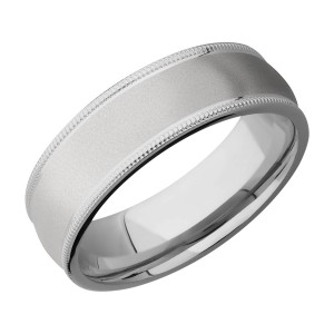 Lashbrook 7DMIL Titanium Wedding Ring or Band