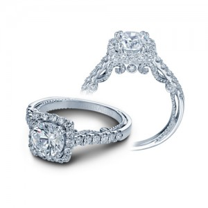 Verragio Insignia-7078CU Platinum Engagement Ring