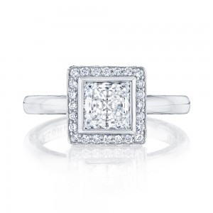 303-25PR6 Platinum Tacori Starlit Engagement Ring