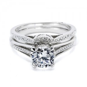 Tacori 2601B Platinum Wedding Band