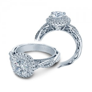 Verragio Venetian-5048R Platinum Engagement Ring
