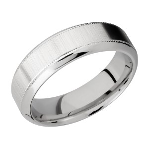 Lashbrook 7HB2UMIL Titanium Wedding Ring or Band