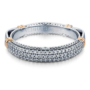 Verragio Parisian-114W 14 Karat Wedding Ring / Band