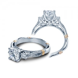 Verragio Parisian-129R Platinum Engagement Ring
