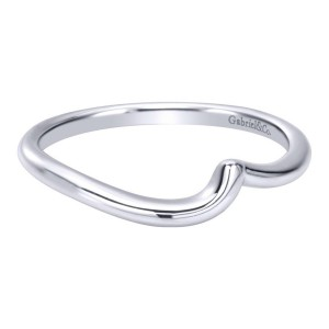 Gabriel 14 Karat Contemporary Wedding Band WB10938W4JJJ