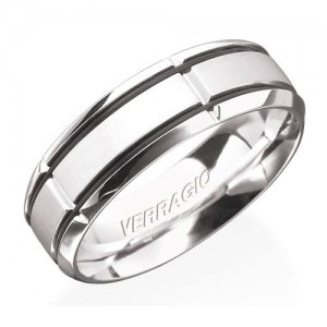 Verragio 14 Karat In-Gauge Wedding Band RU-7004