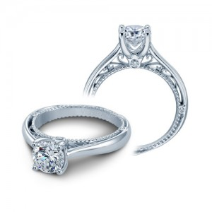 Verragio Venetian-5047R Platinum Engagement Ring