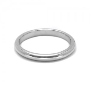 Tacori Platinum Simply Tacori Wedding Band 2521 HP