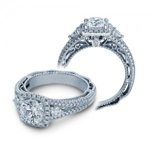 Verragio Venetian-5055CU Platinum Engagement Ring