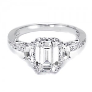 Tacori Dantela Platinum Engagement Ring 2628ECP