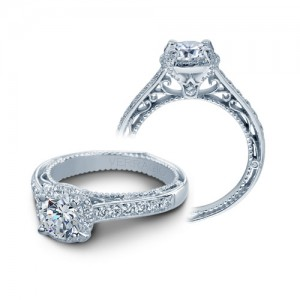 Verragio Venetian-5015R Platinum Engagement Ring