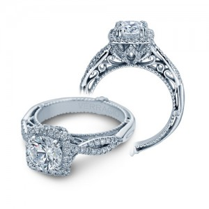Verragio Venetian-5062CU Platinum Engagement Ring