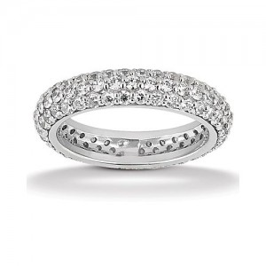 Eternity Diamond Band Platinum Taryn Collection TQD 6-1-854