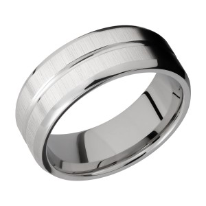 Lashbrook 8B11U Titanium Wedding Ring or Band