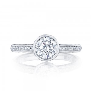 305-25RD65 Platinum Tacori Starlit Engagement Ring