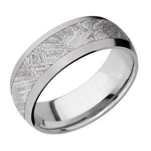 Lashbrook 8D15/Meteorite Titanium Wedding Ring or Band