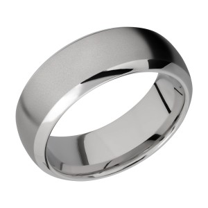 Lashbrook 8DB Titanium Wedding Ring or Band